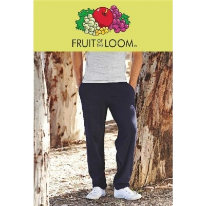 Spodnie dresowe męskie                     Fruit of the Loom Open Hem Jog Pants