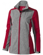 Vesper SS Jacket Lds, Red, XS