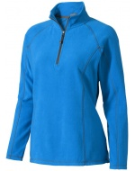 Bowlen 1/4 zip Lds, Blue, XS
